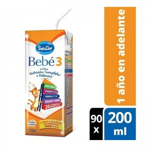 Sancor Bebe 3 Pack Leche...